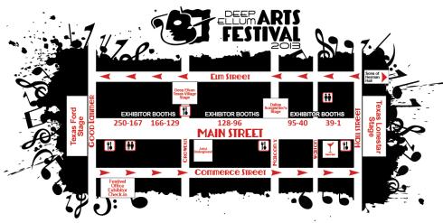 DEAF map