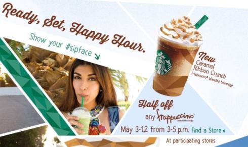 starbucks-half-price-frappuccino-happy-hour-2013