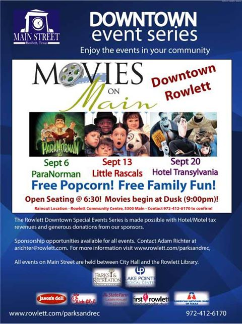 rowlett-movies