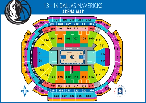 Select your seats for the 2013-14 season